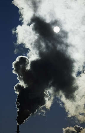 Factory smoke Stock Photo - 7196443