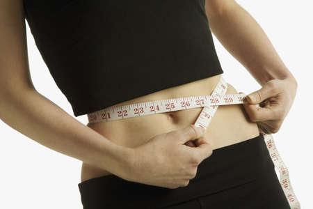 허리의 잘룩 한 선: Measuring a waist-line