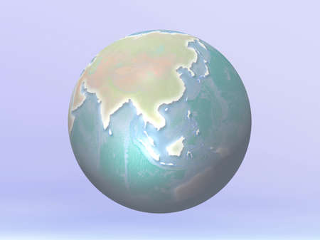 3D Globe photo