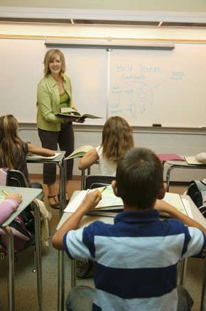 Teaching in a classroom Stock Photo - 7196739