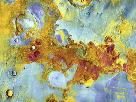 Aerial view of Mars photo