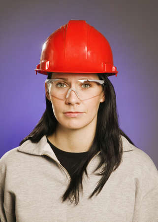 eyecontact: Woman in trades