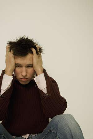 Unhappy man Stock Photo - 7196781