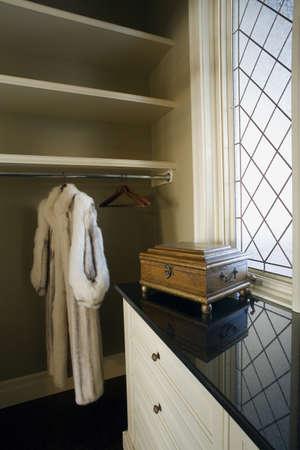 Walk-in closet Stock Photo - 7196865