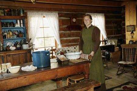 caterers: Historical kitchen in Fort Edmonton, Alberta