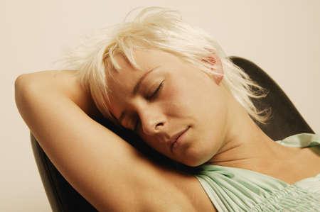 Woman sleeping Stock Photo - 7197686