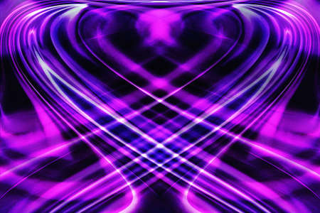 knorr: Purple-toned abstract