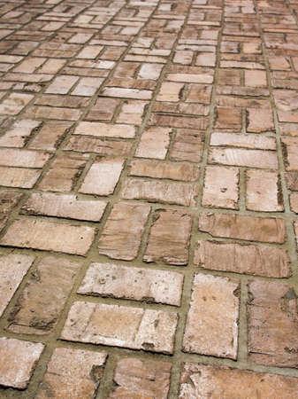 sidewalks: Brick sidewalk
