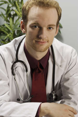 thirty something: Portrait of a male doctor
