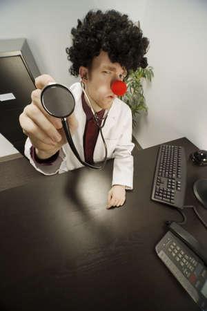 Humourous male doctor Stock Photo - 7198155
