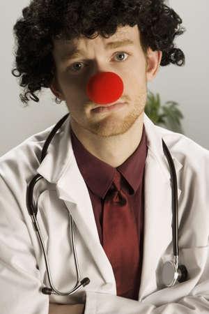 wacky: Sad clown doctor