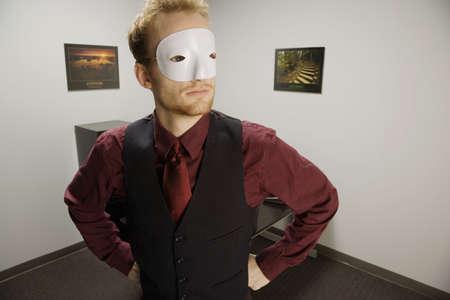 self conceit: A masked man