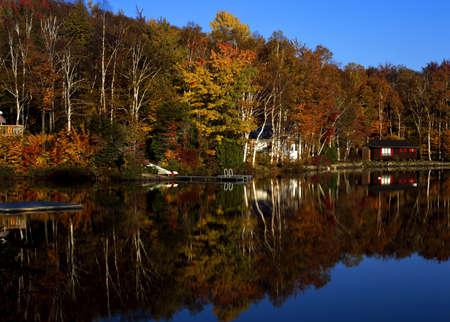 Lakefront property photo