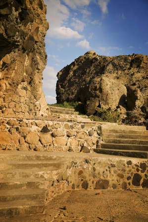 glubish: Levels of stone and stairs