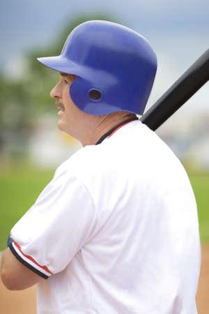 야구 선수 박쥐, 칠 준비가 들고
