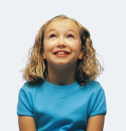 Portrait of smiling girl Stock Photo - 7200509