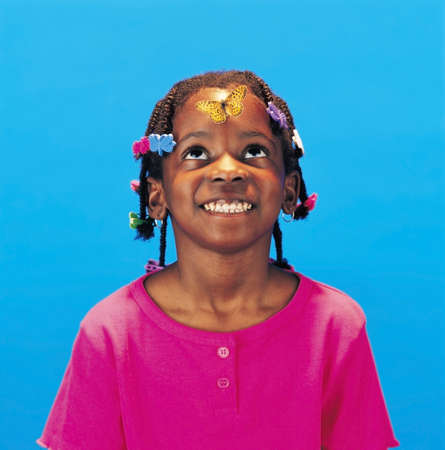 Portrait of smiling girl Stock Photo - 7201076