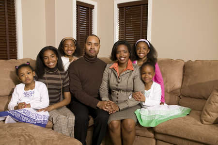 A family portrait Stock Photo - 7200856