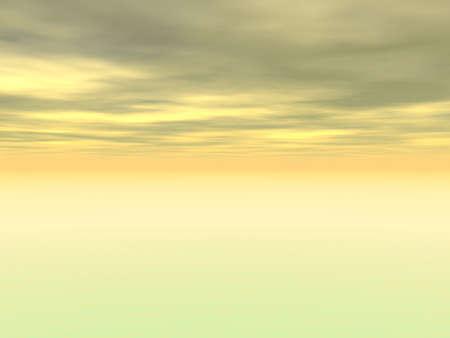computer gegenereerde horizon Stockfoto