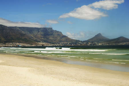 Beach in Cape Town, South Africa photo
