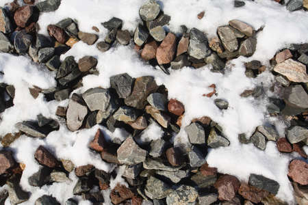 raniszewski: Gravel and snow