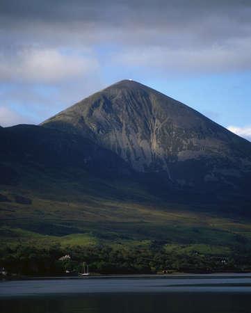 patrick: County Mayo, Croagh Patrick, Ireland Stock Photo