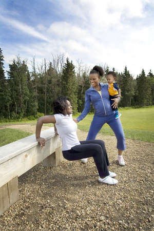 Women exercising together Stock Photo - 7207568