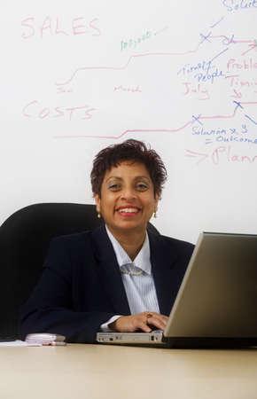 Portrait of a businesswoman Stock Photo - 7201021