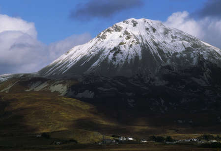 contae: Errigal mountain, County Donegal, Ireland