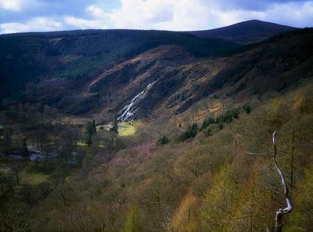 harland: Powerscourt Waterfall, Co Wicklow, Ireland Stock Photo