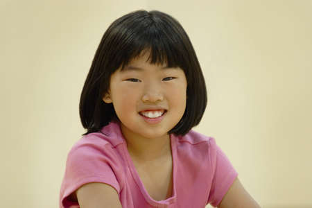 Smiling asian girl Stock Photo - 7201043