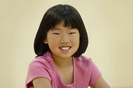 Smiling asian girl Stock Photo - 7201043