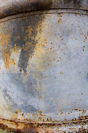oxidado: Tina antigua oxidado