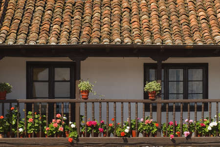 Architectural exterior in Escalente, Cantabria, Spain Stock Photo - 7202569