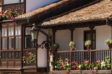 Architectural exterior in Escalente, Cantabria, Spain Stock Photo - 7202536