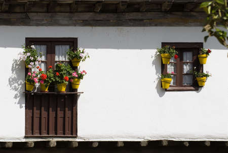 Architectural exterior in Escalente, Cantabria, Spain Stock Photo - 7202555