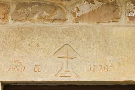 lintel: Stone carving in lintel