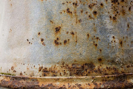 oxidado: Metal oxidado