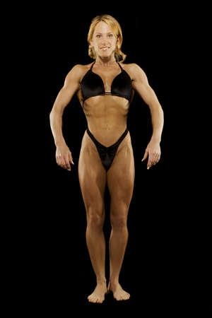 Female bodybuilder Imagens