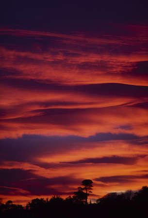Sunset, Ireland Stock Photo