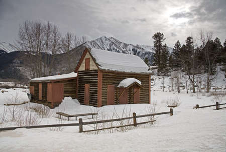 Cottage at Twin Lakes Village, Sawatch Range, Colorado, USA   photo