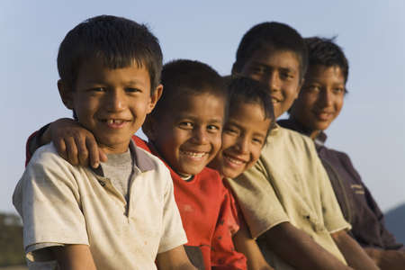 Group of boys Stock Photo - 7206858