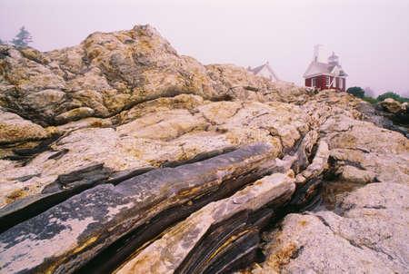 Pemaquid Point lighthouse, Bristol, Maine, U.S.A photo