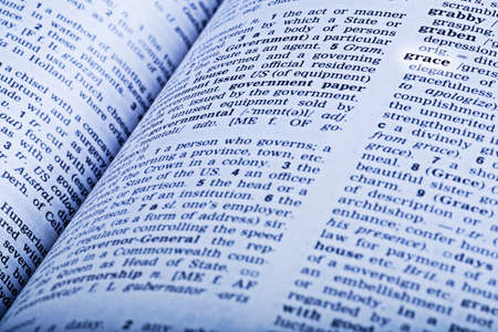 An dictionary open to the word grace Stock Photo - 7209193