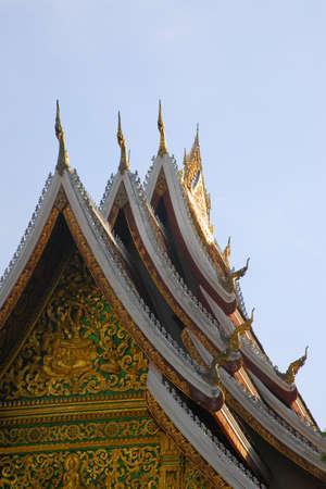 Wat Ho Prabang Temple, Luang Prabang, Laos Stock Photo - 7208156