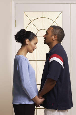 Couple praying together Stock Photo - 7206835