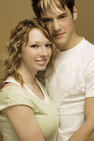 adulthood: Portrait of a couple