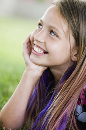preteens girl: Portrait of a girl