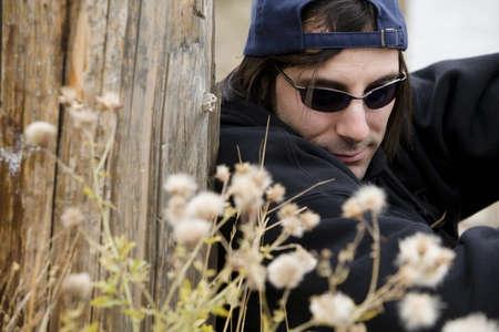 Man wearing sunglasses photo