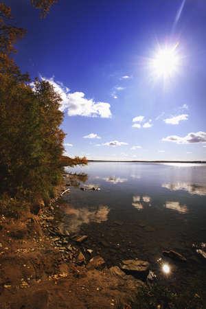sylvan: Shoreline at Sylvan Lake, AB, Canada
